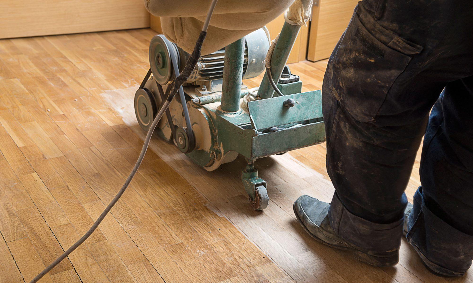 Renovierung von Holzböden - Parkett schleifen